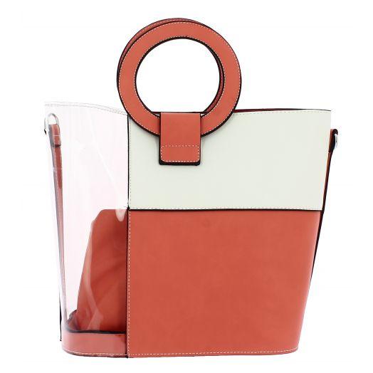 IQBAGS Γυναικεία Τσάντα 08120 Κοραλί