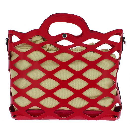 IQBAGS Γυναικεία Τσάντα 1046 Κόκκινο