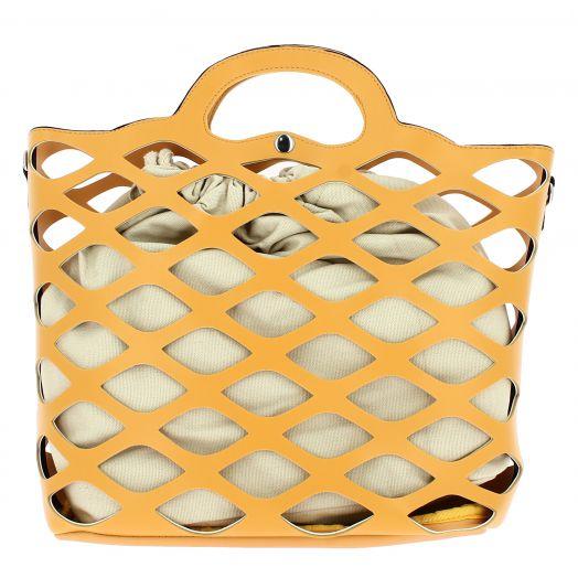 IQBAGS Γυναικεία Τσάντα 1046 Κίτρινο