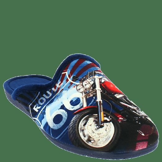 ANTRIN Ανδρική Παντόφλα 30-10503 Μπλε