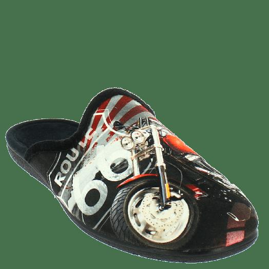 ANTRIN Ανδρική Παντόφλα 30-10503 Μαύρο