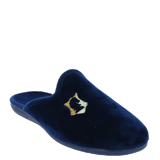 ANTRIN Ανδρική Παντόφλα 30-10600 Μπλε
