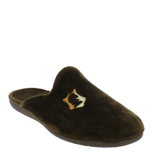 ANTRIN Ανδρική Παντόφλα 30-10600 Καφέ