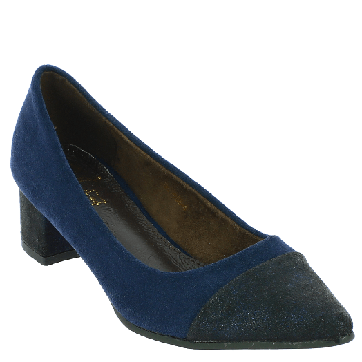 BALLERI Γυναικεία Γόβα BL18684 Μπλε