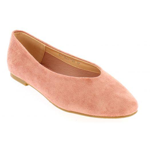 IQSHOES Γυναικεία Μπαλαρίνα 133.1K231 Ροζ