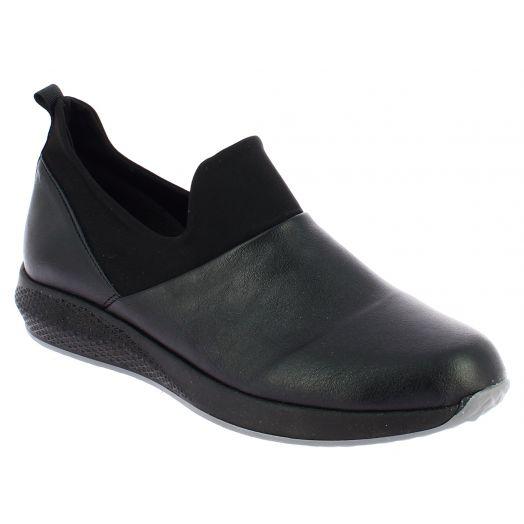 IQSHOES Γυναικείο Comfort 43.40/025 Μαύρο