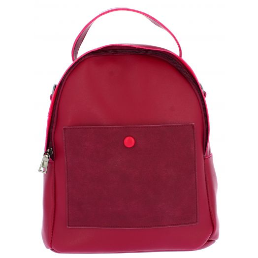 IQBAGS Γυναικείο Σακίδιο 5010-1 Κόκκινο