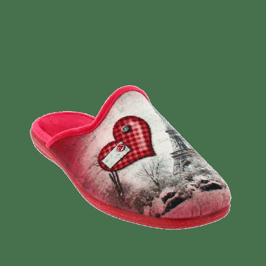 ANTRIN Γυναικεία Παντόφλα 18 139 5010 Κόκκινο