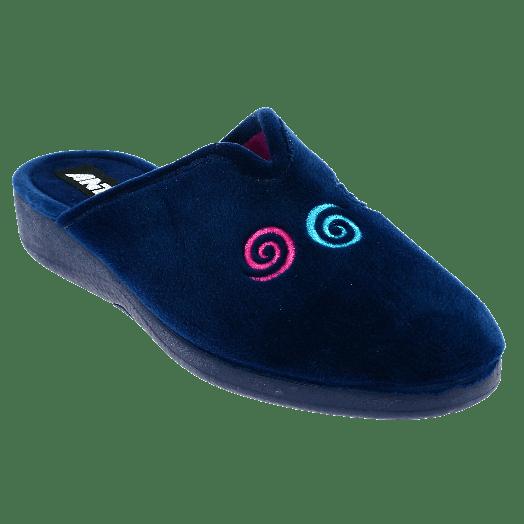 ANTRIN Γυναικεία Παντόφλα 30-5600 Μπλε