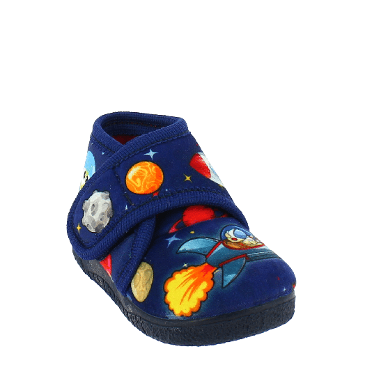 IQKIDS Αγορίστικα Παντοφλάκια 30-736 Μπλε