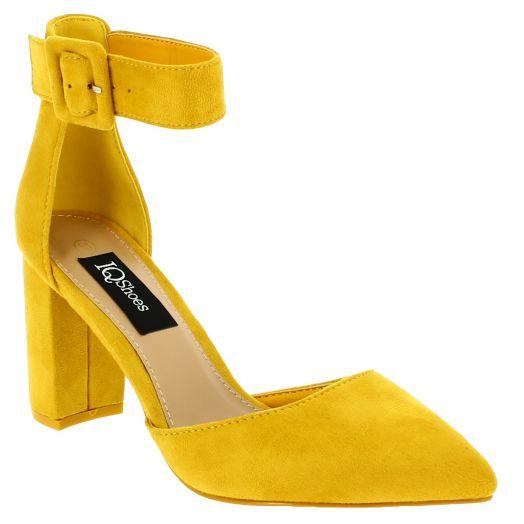 IQSHOES Γυναικεία Γόβα 99-166 Κίτρινο