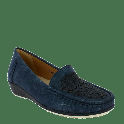ANTRIN Γυναικείο Μοκασίνι Comfort DOLORES-130 Μπλε