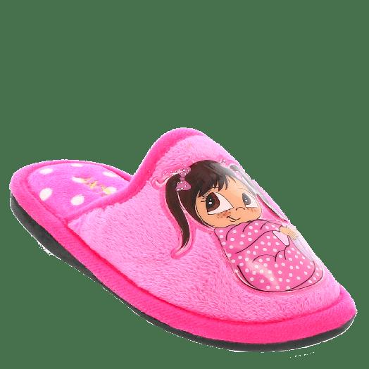 ANTRIN Κοριτσίστικα Παντοφλάκια BABY-125 Φούξια