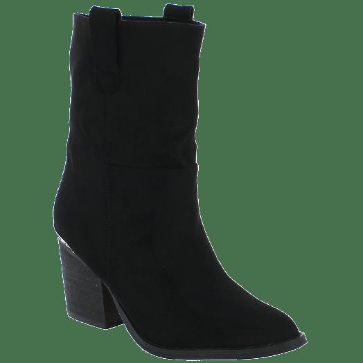 IQSHOES Γυναικείο Μποτάκι 18.107.C9759 Μαύρο