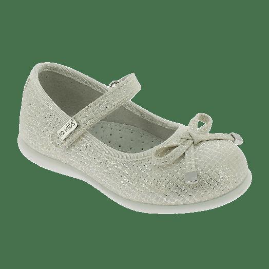 IQKIDS Κοριτσίστικη Μπαλαρίνα GEORGIA-120 22/28 Μπεζ