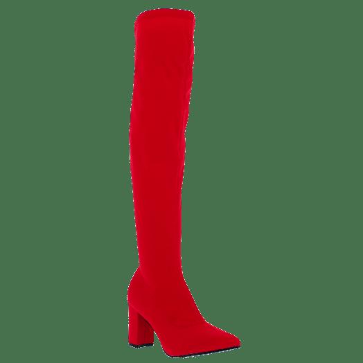 IQSHOES Γυναικεία Μπότα 18.HD265 Κόκκινο