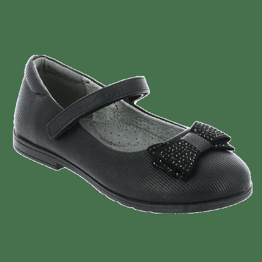 IQKIDS INAD-145 Μπαλαρίνα Κοριτσίστικη Με Φιόγκο Μαύρο
