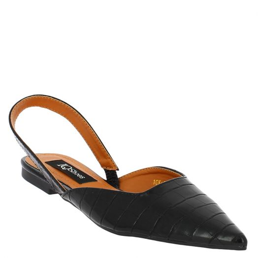 IQSHOES Γυναικεία Σανδάλια 18.106.1GK-0155 Μαύρο
