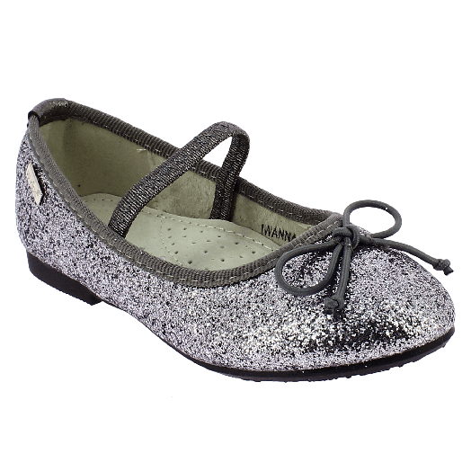 IQKIDS Κοριτσίστικη Μπαλαρίνα IWANNA-125 Ασημί