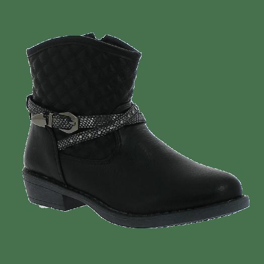 K-TINNI Κοριτσίστικο Μποτάκι KBN9521 30-35 Μαύρο