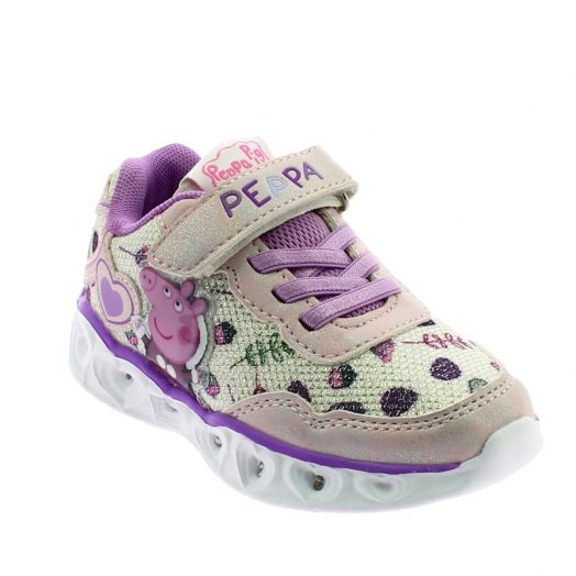 PEPPA PIG 142.4630 Ροζ Κοριτσίστικο Αθλητικό Με Φωτάκια