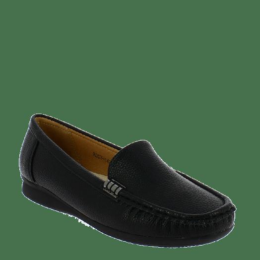 ANTRIN Γυναικείο Μοκασίνι Comfort ROSY-140 Μαύρο
